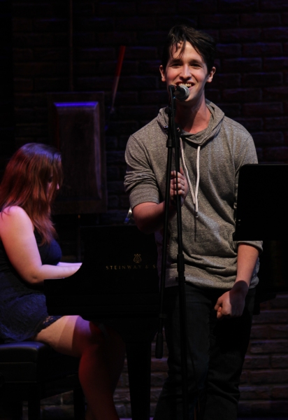 Photo Coverage: Pace New Musicals Writers Room Visits Murderous Musical Mondays at MURDER FOR TWO!