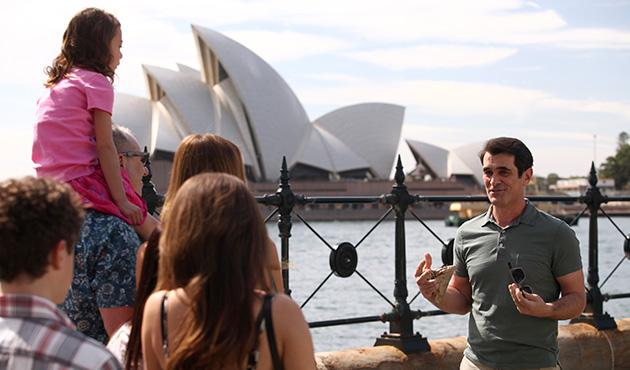 ABC's MODERN FAMILY Heading to Australia, Today
