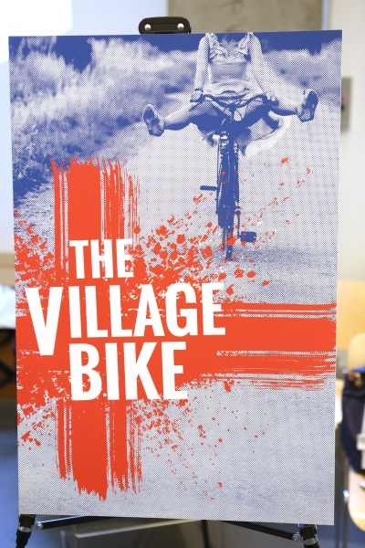 Photo Coverage: Company of MCC's THE VILLAGE BIKE Meets the Press!