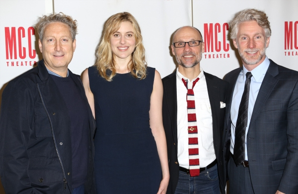Bernie Telsey, Greta Gerwig, Will Cantler and Blake West