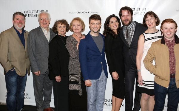 Photo Coverage: THE CRIPPLE OF INISHMAAN Company Celebrates Opening Night