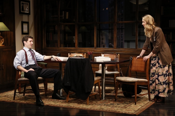 Photo Flash: First Look at John Noble, Halley Feiffer & More in Second Stage's THE SUBSTANCE OF FIRE