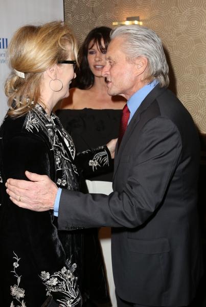 Meryl Streep, Catherine Zeta-Jones and Michael Douglas