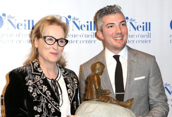 Meryl Streep and Preston Whiteway