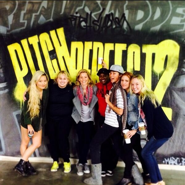 Photo Flash: In Rehearsal for PITCH PERFECT 2 with Rebel Wilson, Elizabeth Banks & More
