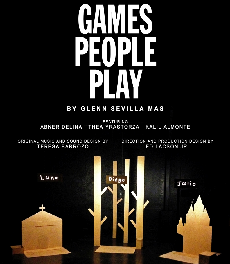 BWW Reviews: GAMES PEOPLE PLAY by Glenn Mas