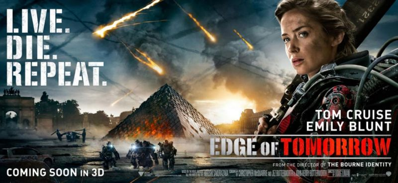 FIRST LOOK - Emily Blunt Featured in New EDGE OF TOMORROW Banner