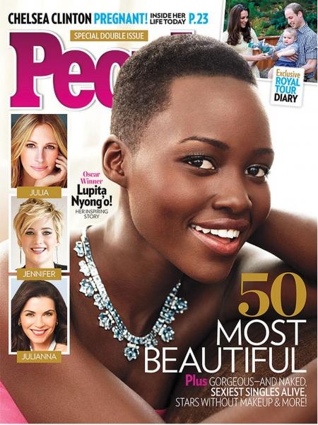 Photo Coverage: Lupita Nyong'o Named People's Most Beautiful Woman