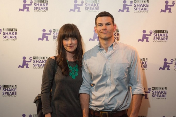 Jennifer Alcott Parkford and Josh Helman