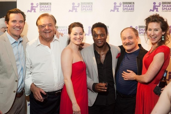 Eric Tucker, Paul Sorvino, Anne Bates, Chukwudi Iwuji, Wayne Powers, and Clodagh Bowy Photo