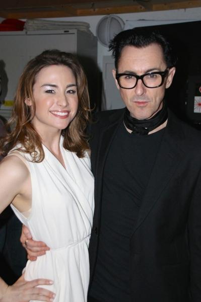 Allison Scagliotti, Alan Cumming Photo
