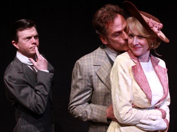 Randall Utterword (Joel Sandel), Hector Hushabye (Joe Kirkendall), and Lady Ariadne U Photo