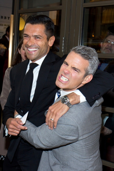 Mark Consuelos, Andy Cohen