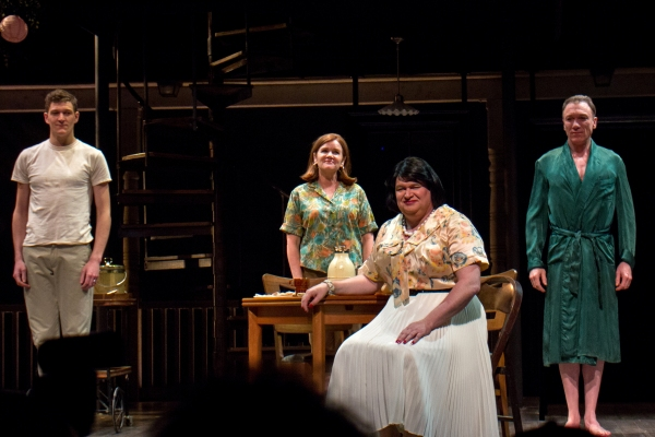 Photo Coverage: CASA VALENTINA Company Celebrates Opening Night!
