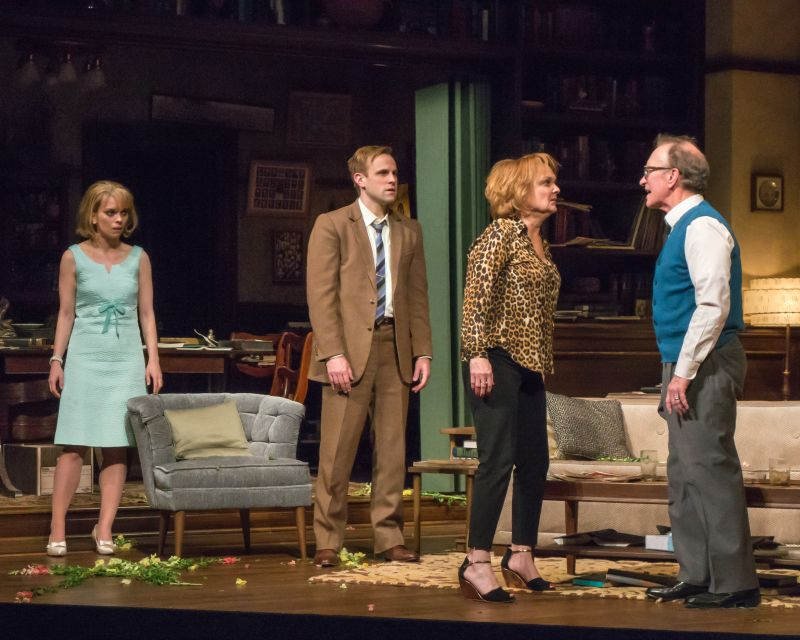 BWW Reviews: Sharp Tongues in Seattle Rep's WHO'S AFRAID OF VIRGINIA WOOLF?