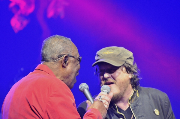 Sam Moore and Zucchero Photo