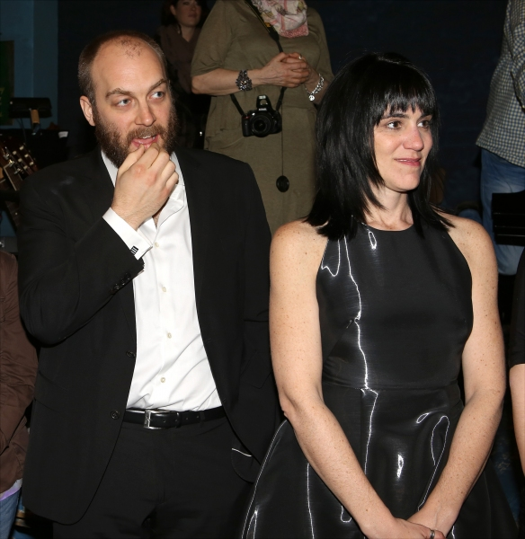 Alexander Gemignani and Leigh Silverman