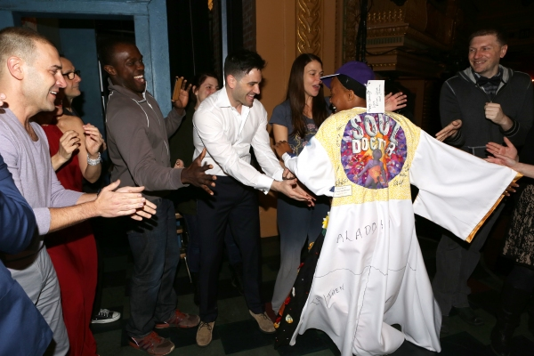 Charlie Pollock, Joshua Henry, Colin Donnell, Sutton Foster and Anastacia McCleskey