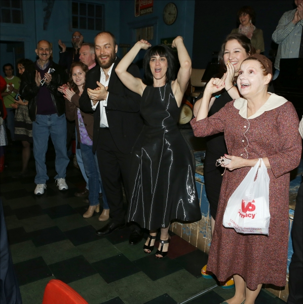 Alexander Gemignani, Leigh Silverman and Annie Golden