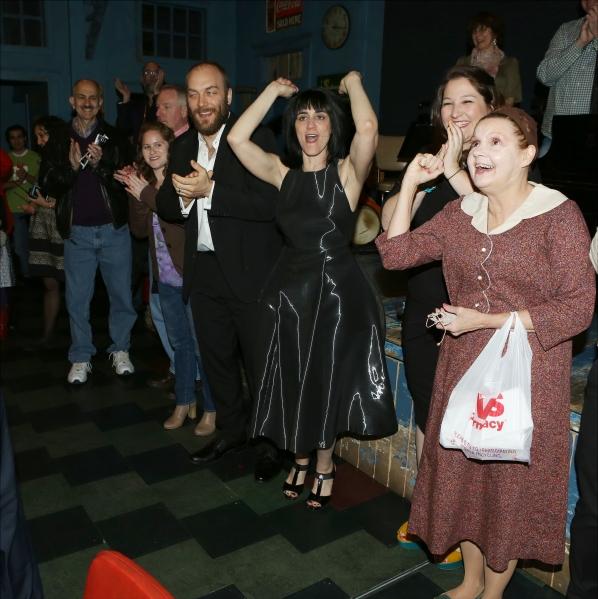 Alexander Gemignani, Leigh Silverman and Annie Golden