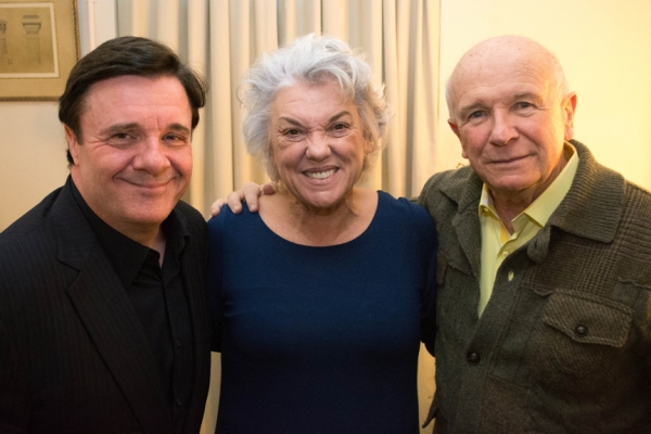Photo Flash: Nathan Lane Takes Part in MOTHERS AND SONS Talkback with Tyne Daly & Terrence McNally