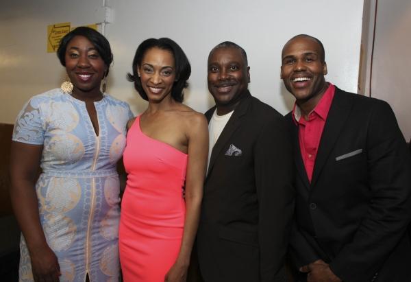Cast members Denisha Ballew, Cheryse McLeod Lewis, Kingsley Leggs  and David Hughey Photo