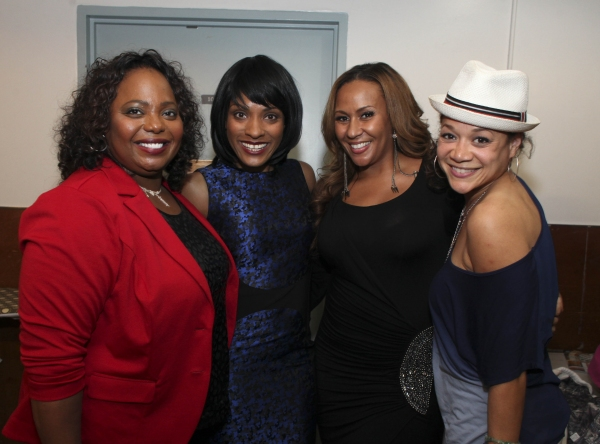 Actress Cocoa Brown, cast member Alicia Hall Moran and actresses Kiki Haynes and Michole Briana White