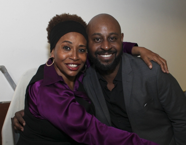 Actress Jenifer Lewis and cast member Alvin Crawford