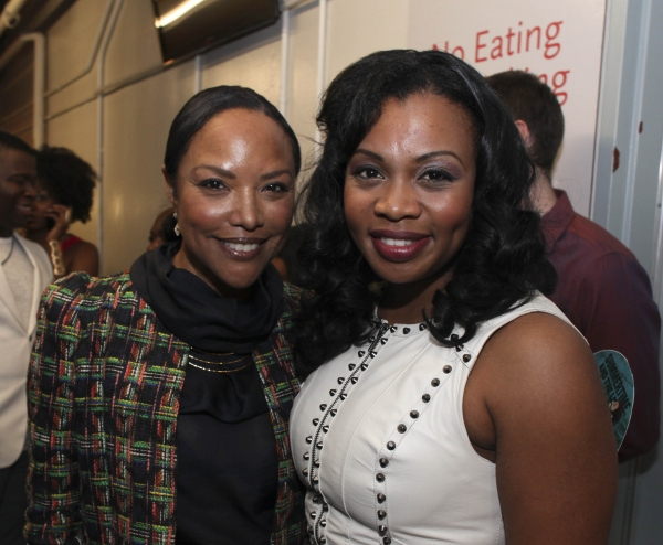 Actress Lynn Whitfield and cast member Sumayya Ali