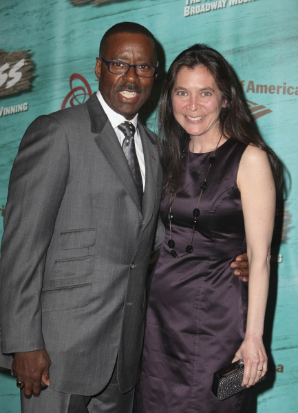 Actor Courtney B. Vance and Director Diane Paulus