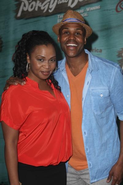Cast members Sumayya Ali and David Hughey