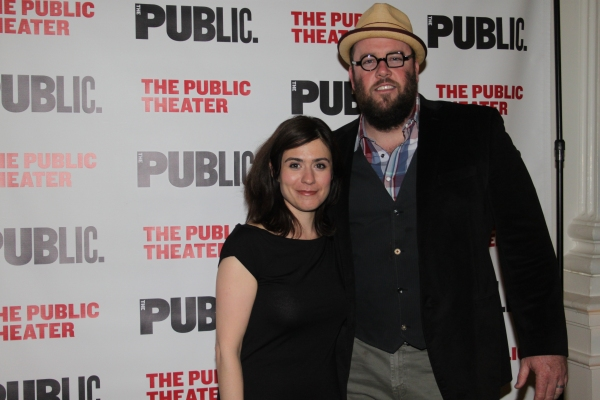 Photo Coverage: Inside Opening Night of Public Theater's THE GREAT IMMENSITY