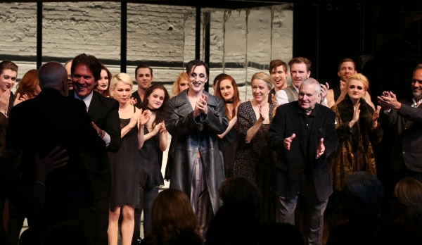 Joe Masteroff, Rob Marshall, Michelle Williams, Alan Cumming, Linda Emond, John Kander, Bill Heck, Gayle Rankin and Sam Mendes