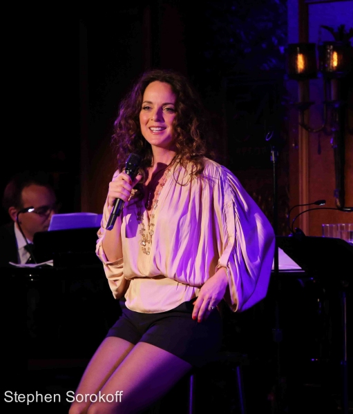 Photo Coverage: Melissa Errico Brings AT THE CORNER OF 54TH AND CRAZY to 54 Below