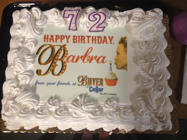 Photo Flash: BUYER & CELLAR Celebrates Barbra Streisand's Birthday!