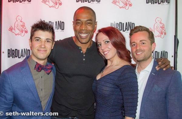 Photo Flash: Trevor McQueen, Michael McElroy & More Perform at MENTOR MONDAYS at Birdland