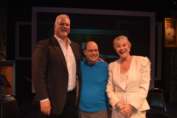 Photo Flash: Heller Halliday & Preston Hagman Visit York Theatre Company's INVENTING MARY MARTIN