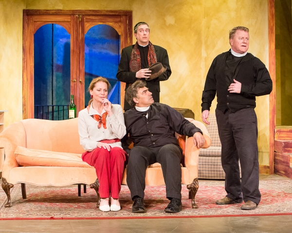 Photo Flash: First Look at SEE HOW THEY RUN at The Sherman Playhouse