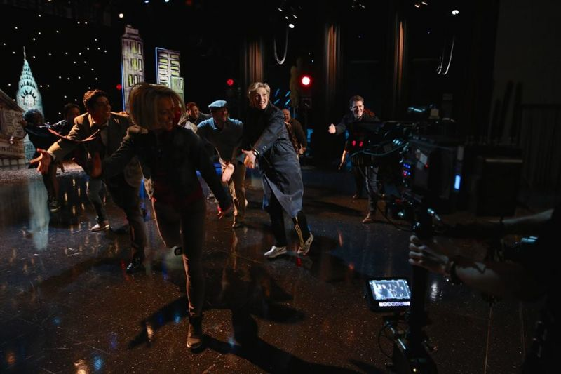 Behind The Scenes Of GLEE's FUNNY GIRL Tribute