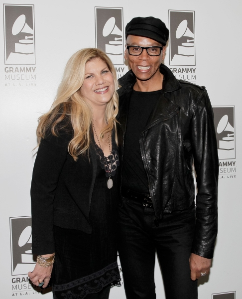 Kristen Johnston and Rupaul