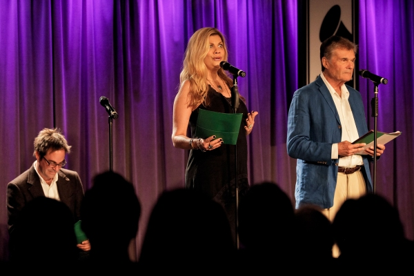 Roger Bart, Kristen Johnston, and Fred Willard