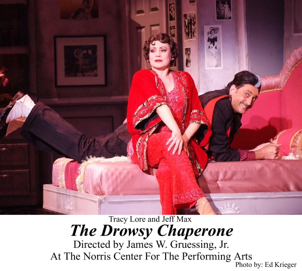 BWW Reviews: THE DROWSY CHAPERONE Tries to Tame a Pampered Starlet on Her Wedding Day