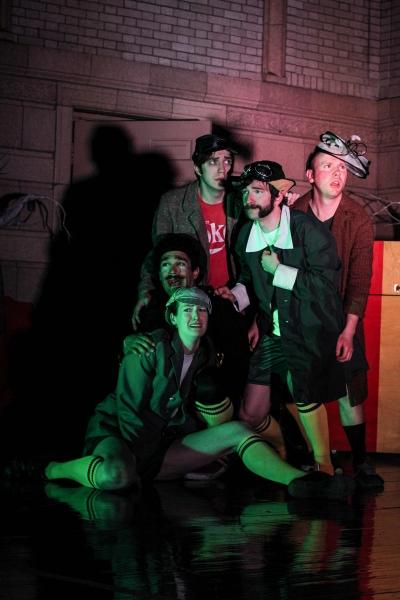 Alex Knapp, Kate Healy, Tim Martin, Shaw Nigro & Scott Ray Merchant Photo
