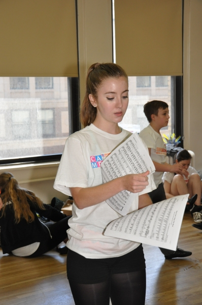 Photo Coverage: Camp Broadway Kids Rehearse for New York Pops Gala