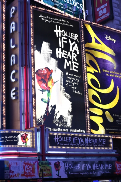 Up on the Marquee: HOLLER IF YA HEAR ME