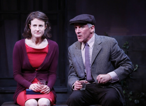 Xanthe Elbrick and Patrick Fitzgerald Photo
