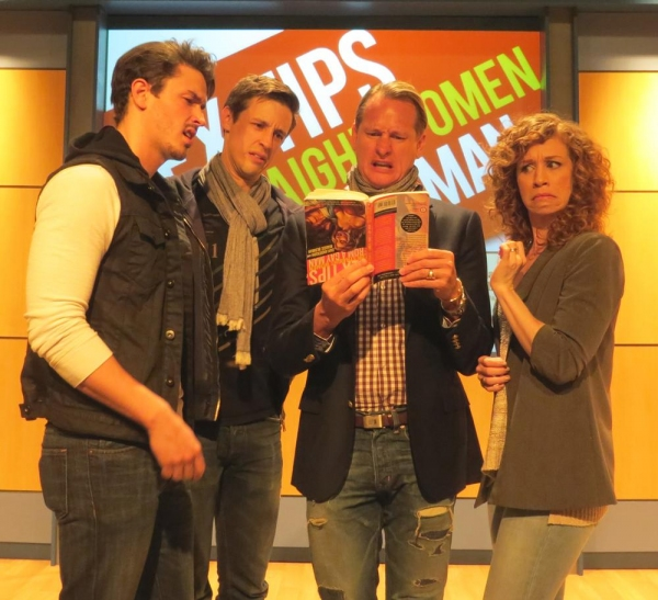 Andrew Brewer, Jason Michael Snow, Carson Kressley and Lindsay Nicole Chambers