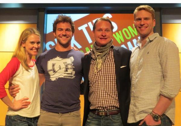 Rachel Moulton, BJ Gruber, Carson Kressley, and Grant MacDermott Photo