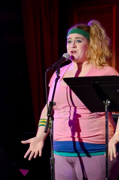 Photo Flash: Amy Spanger, Jenna Leigh Green, Max Crumm, Nic Rouleau, Kate Rockwell and More in LIKE YOU LIKE IT at 54 Below