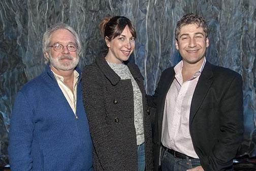 John Weidman, Pia Zankel and Scott Schwartz
